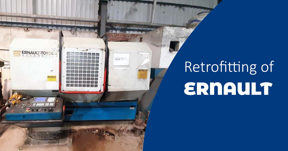 Economical Analysis and Retrofitting of Ernault Make Turning Centre